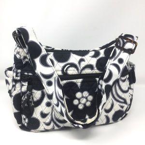 Vera Bradley Quilted Travel Tote Bag Purse Satchel